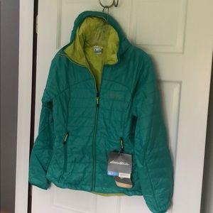 NWT - Eddie Bauer Primaloft reversible jacket XS